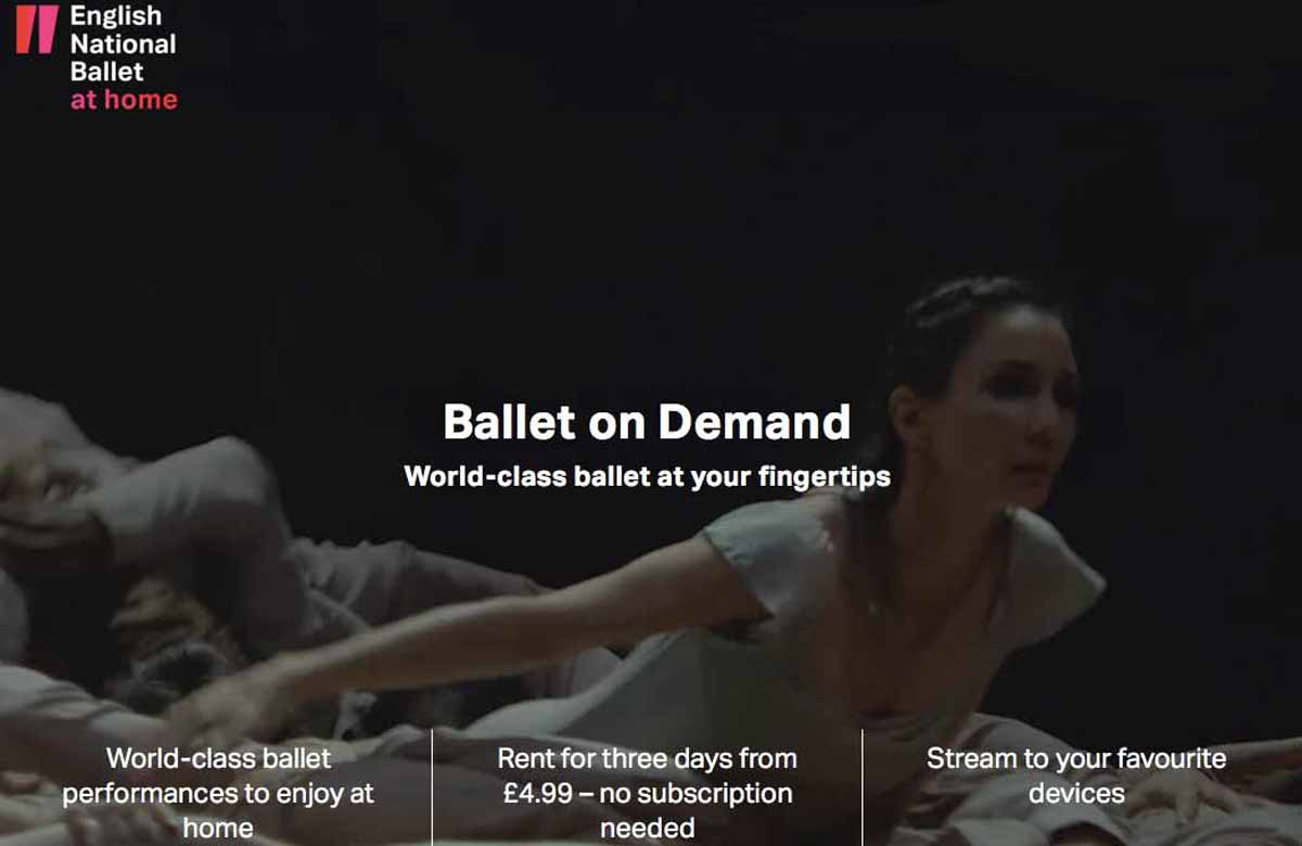 English National Ballet launches on-demand platform