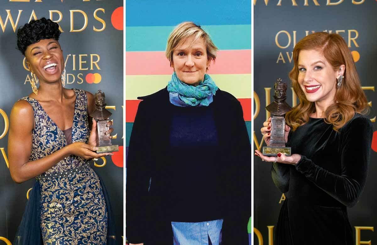 Miriam-Teak Lee, Deborah Warner and Cassidy Janson. Photos: Aemelia Taylor/Claire Egan