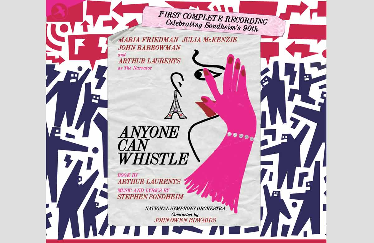 Sondheim's political satire shines once more in a superb cast recording