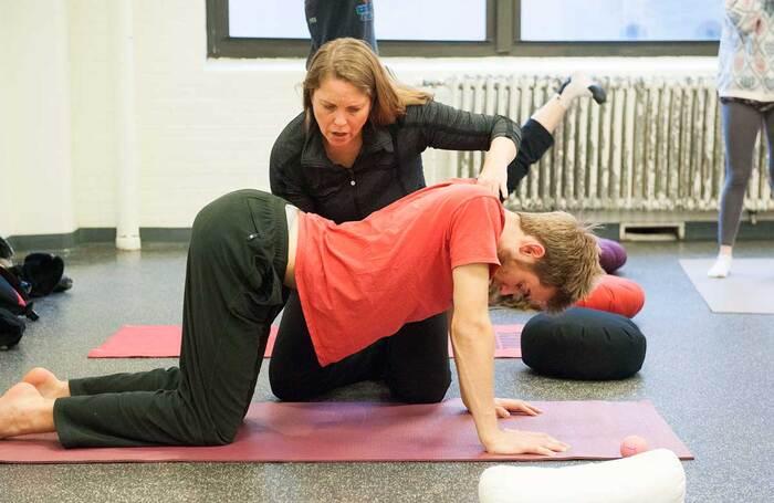 Atlantic Acting School students in practice
