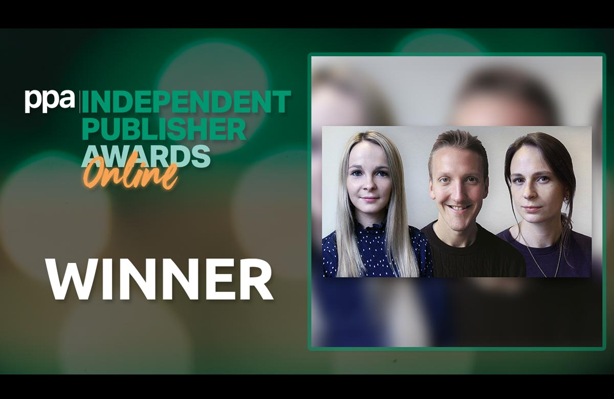 The Stage's news reporters win team of the year award