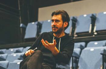 Writer, director and acting coach Toby Clarke: 'Theatre is communal and human'