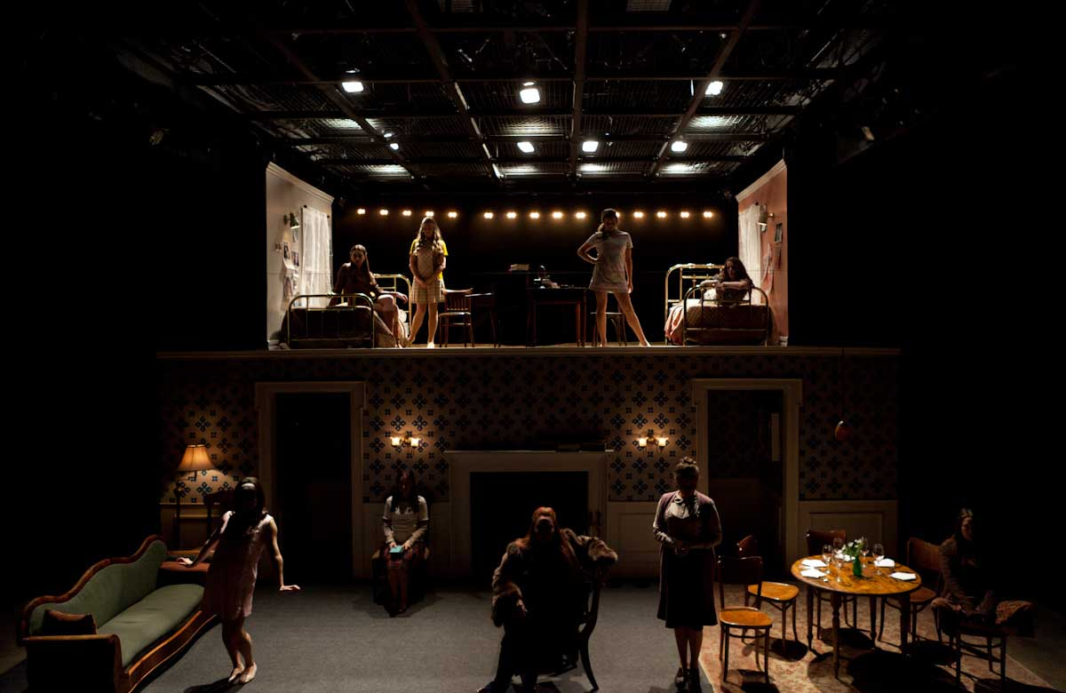 Atlantic Acting School students in Uncommon Women and Others