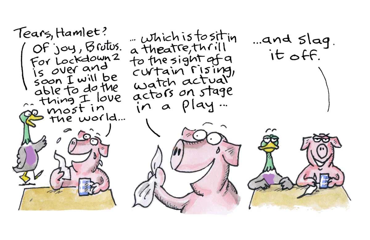 Hamlet, December 2