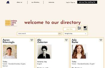 Online directory launched for Middle Eastern and North African creatives