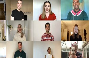 Watch now: Performers release Christmas video to raise money for Acting for Others