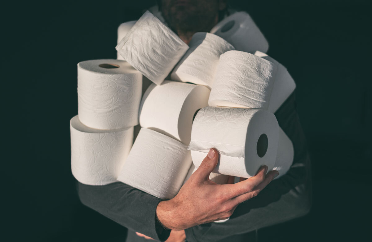 "One piece of advice our panellists have for themselves back in March is: ""Stock up on toilet paper before everyone else"". Photo: Shutterstock"
