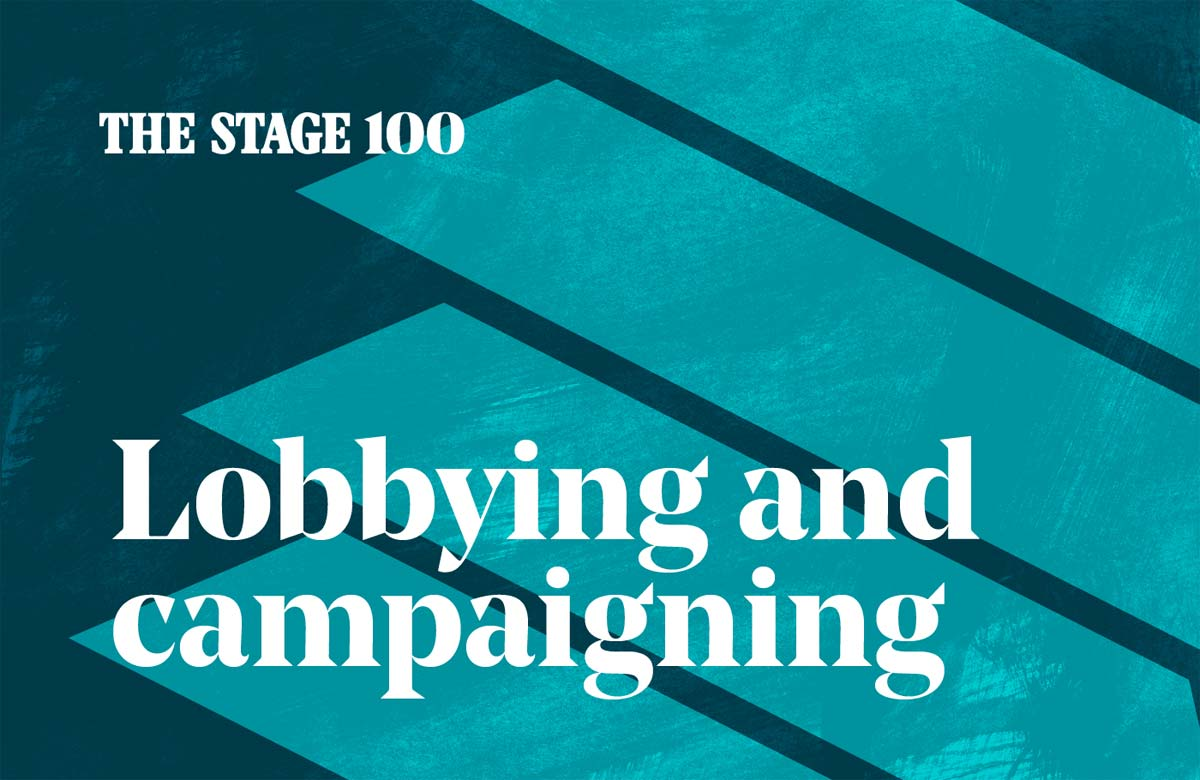 The Stage 100: Fighting for the future of the performing arts