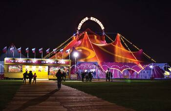 Circuses offer big tops as vaccination centres