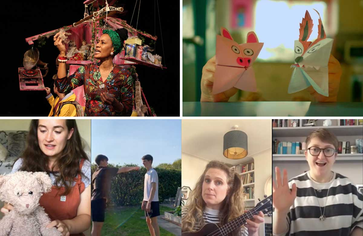 Home-school heroes: best online theatre resources