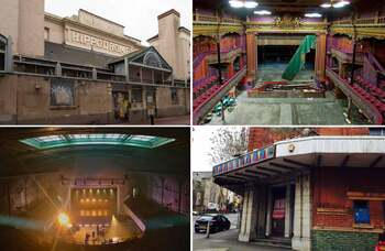 Brighton Hippodrome tops Theatres Trust at-risk register for sixth year running
