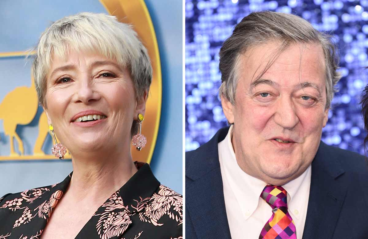 Emma Thompson and Stephen Fry back play-reading service for schools