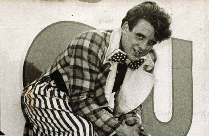 Gerry Cottle at Gandeys Circus in the 1960s