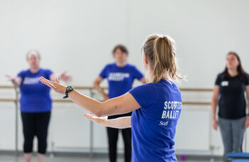 Scottish Ballet teams up with NHS on well-being sessions for health workers