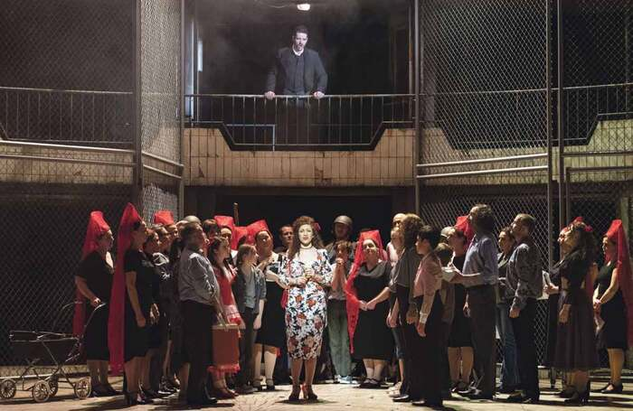 Cast of Welsh National Opera's Carmen. Photo: Richard Hubert Smith