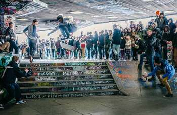 Southbank Centre plans refurb of skate area after antisocial behaviour rise