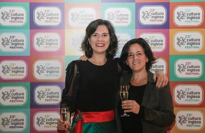 Cultura Inglesa Festival organisers Liliane Rebelo and Natalia Mallo