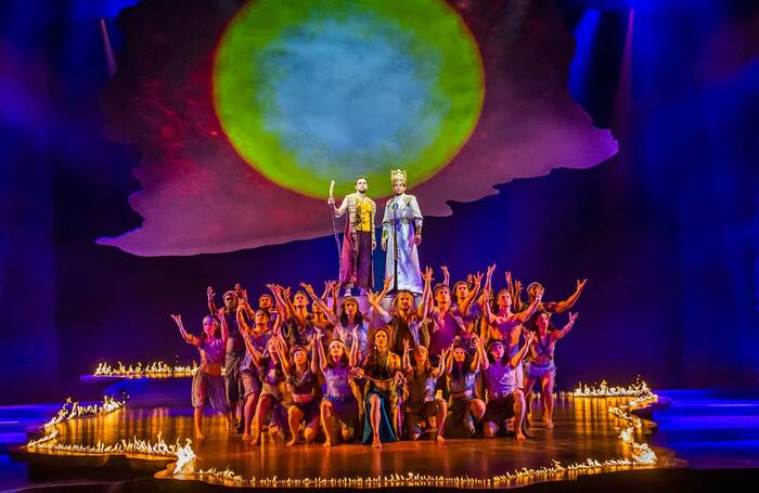 Prince of Egypt forced to cancel 11 further days of performances