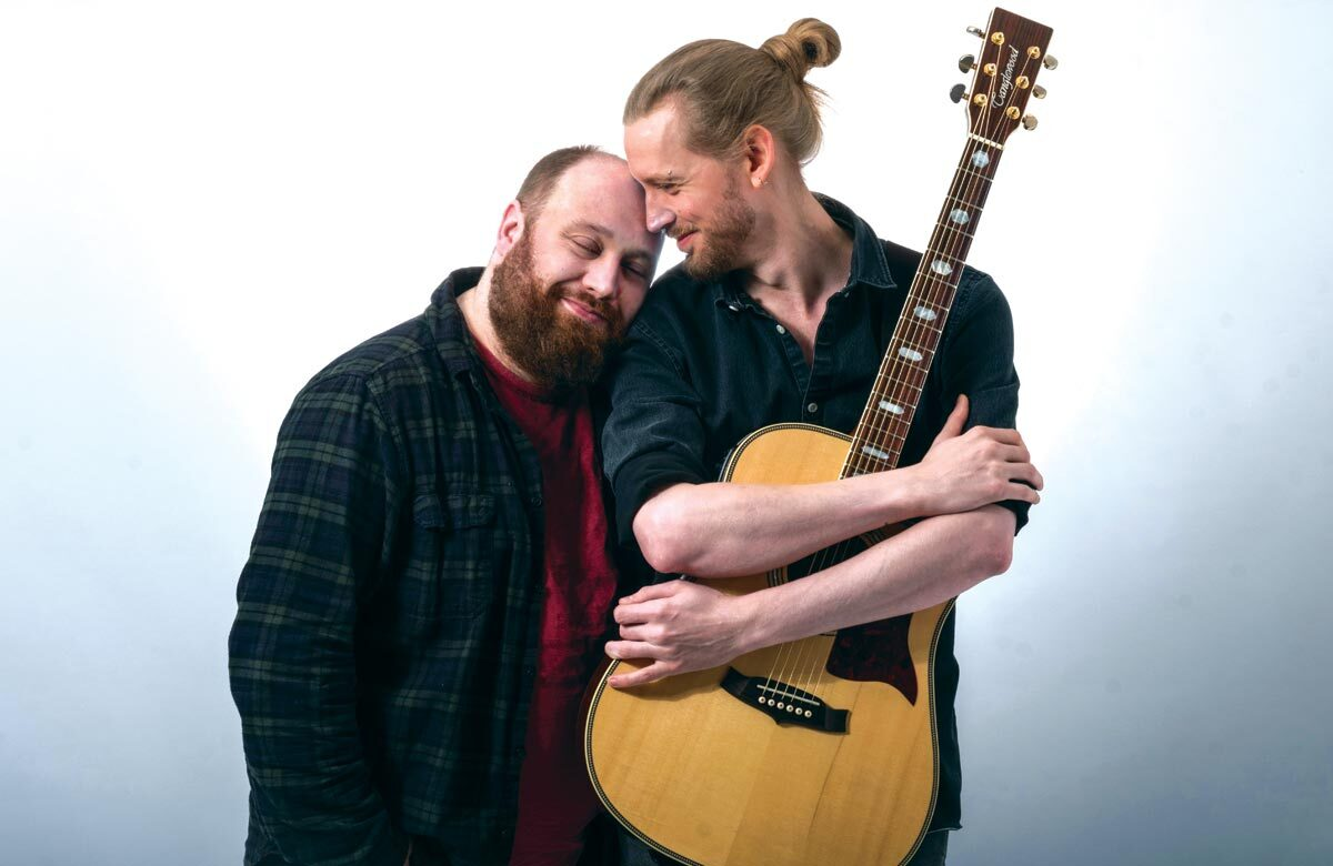 Jonny Donahoe and Paddy Gervers of Jonny and the Baptists