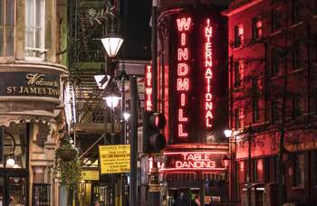 Soho's Windmill reveals plans for June reopening with dinner-theatre cabaret