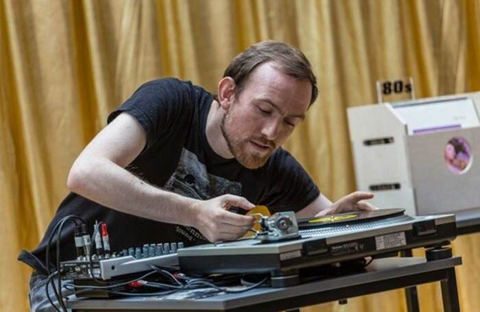 Michael John McCarthy in Turntable. Photo: Aly Wight
