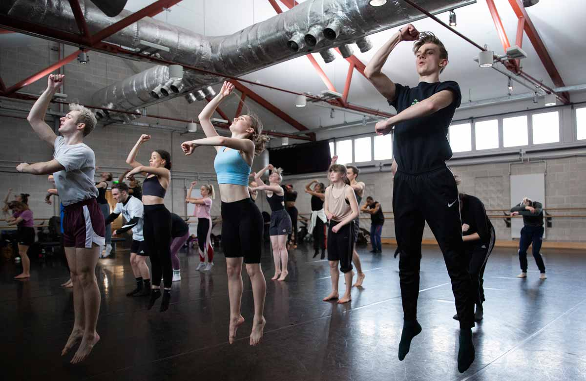 Matthew Bourne launches dance school aimed at boosting diversity