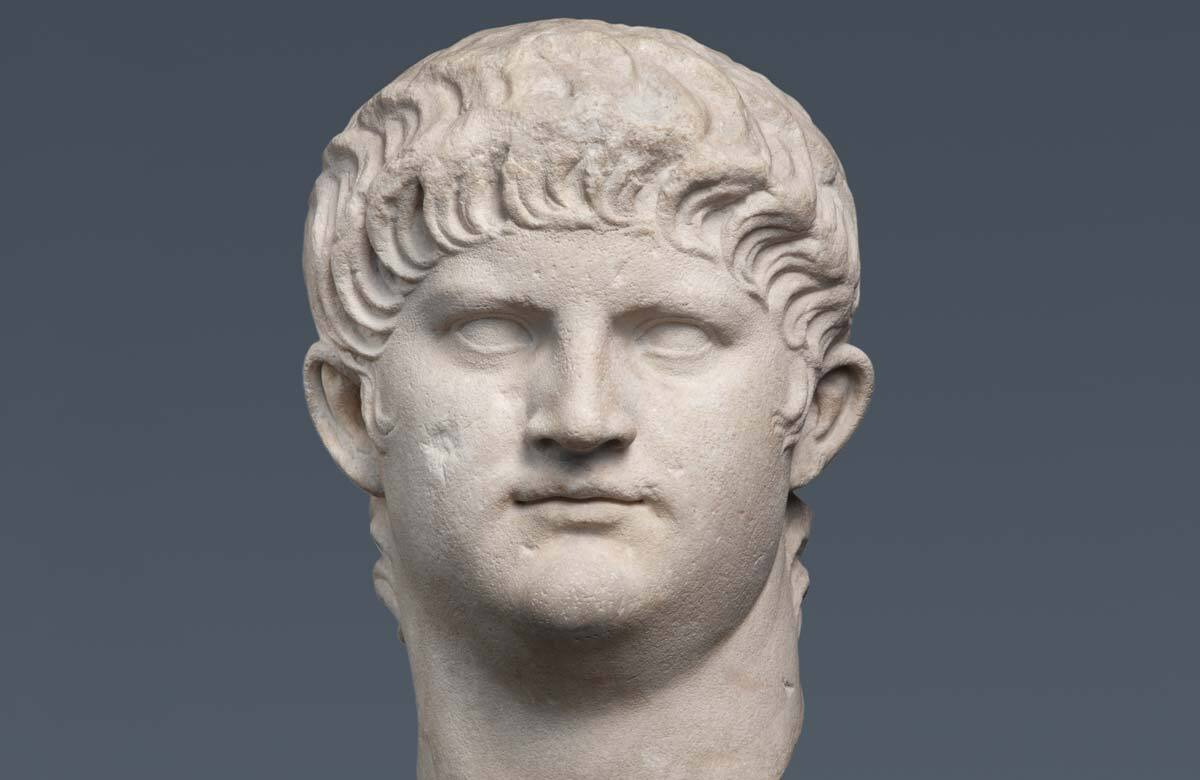 Marble portrait of Nero, 64–8 CE, Rome, Italy. Photo: State Collections of Antiquities and Glyptothek, Munich/Renate Kühling