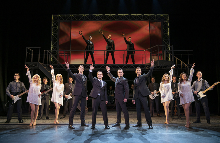 Jersey Boys announces UK and Ireland tour
