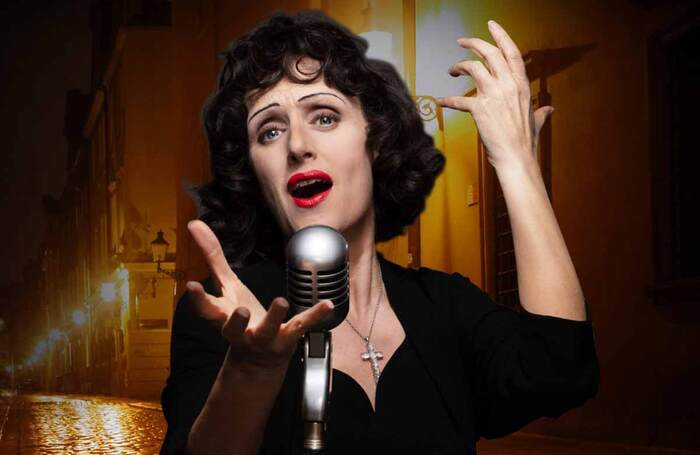 Jenna Russell in Piaf, which opens at Nottingham Playhouse in July