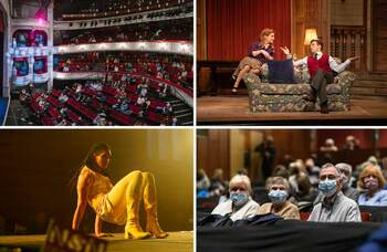 Welcome back: theatres share the moment audiences returned after months of closure