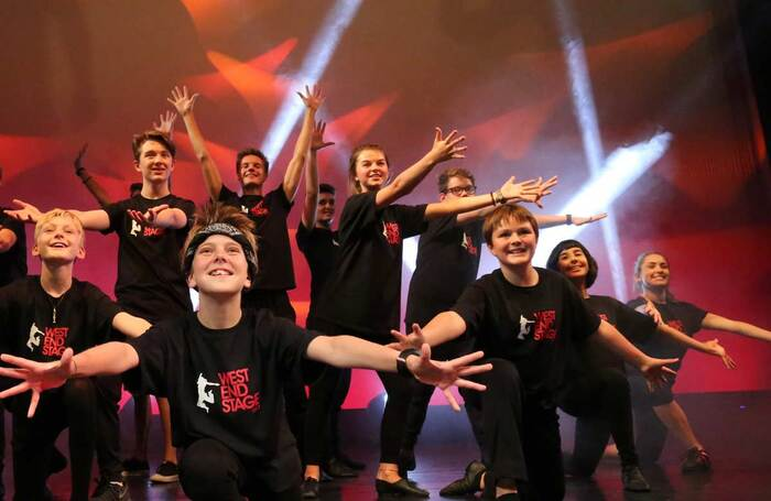 At West End Stage, teachers work with students as if they are putting on a professional West End show