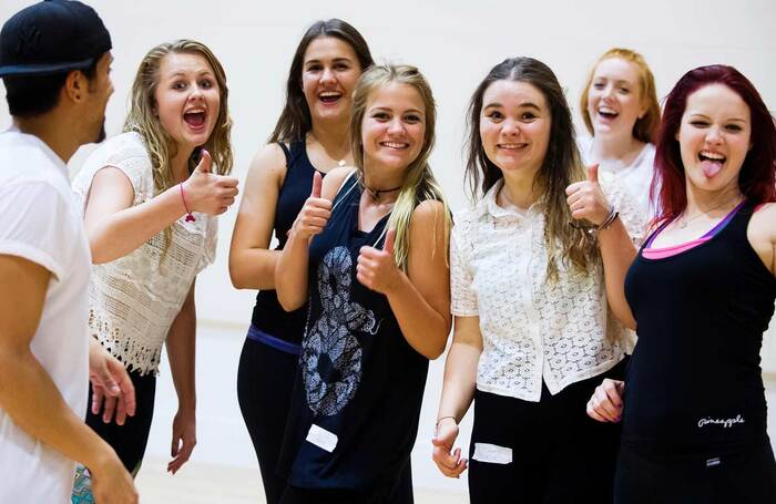 West End Stage students