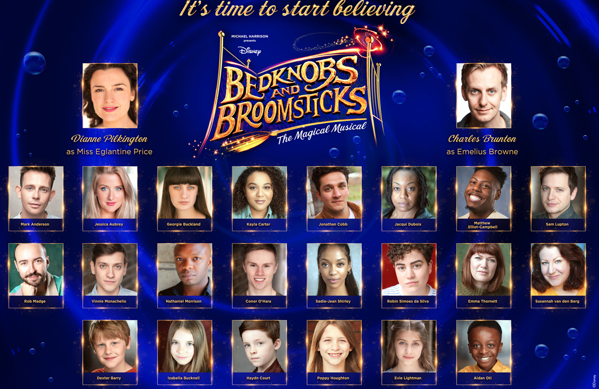 Dianne Pilkington to lead cast of Bedknobs and Broomsticks