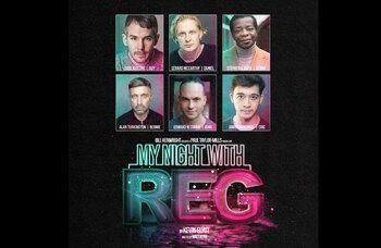 Stephen K Amos among cast of Turbine Theatre's My Night With Reg