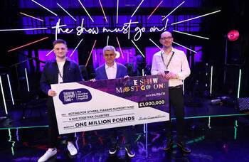 The Show Must Go On! campaign hits £1m milestone
