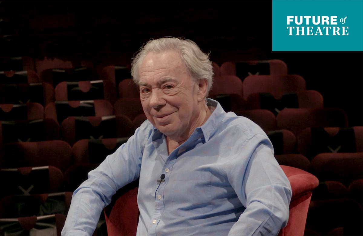 Andrew Lloyd Webber: 'Once all this is over, I believe we'll see a golden time for theatre'