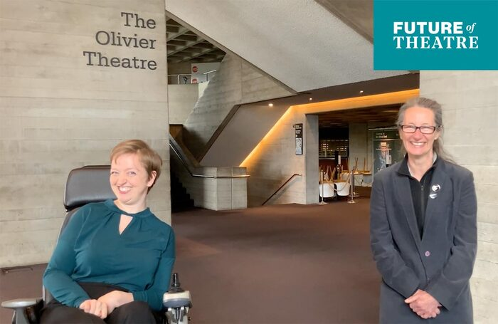 Future of Theatre 2021: Athena Stevens and Paule Constable