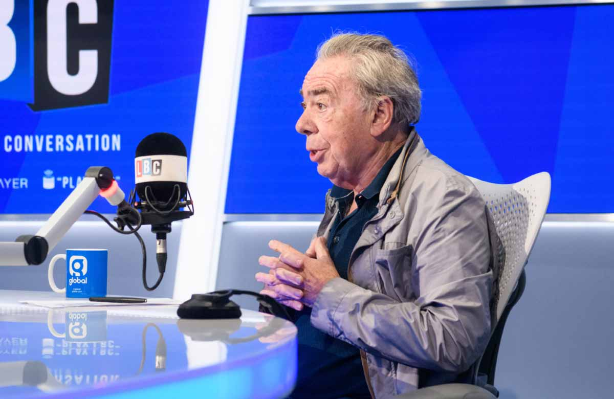 Lloyd Webber: I've never been a Tory member but regret taking the whip as a Lord