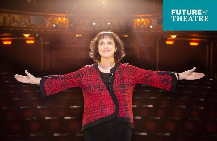 Future of Theatre 2021: Nica Burns. Photo: Danny Kaan