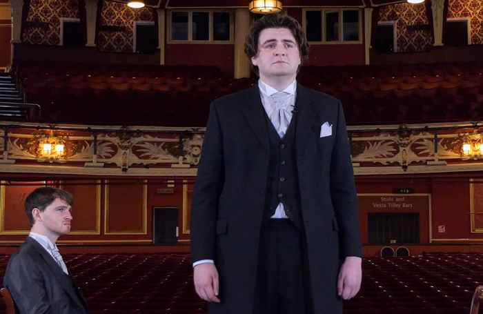 Students stage Oscar Wilde play in empty venue to raise money for theatre charity