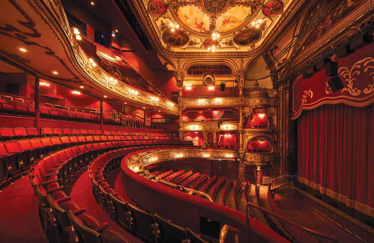 Belfast Grand Opera House auditorium. Photo: Christopher Heaney