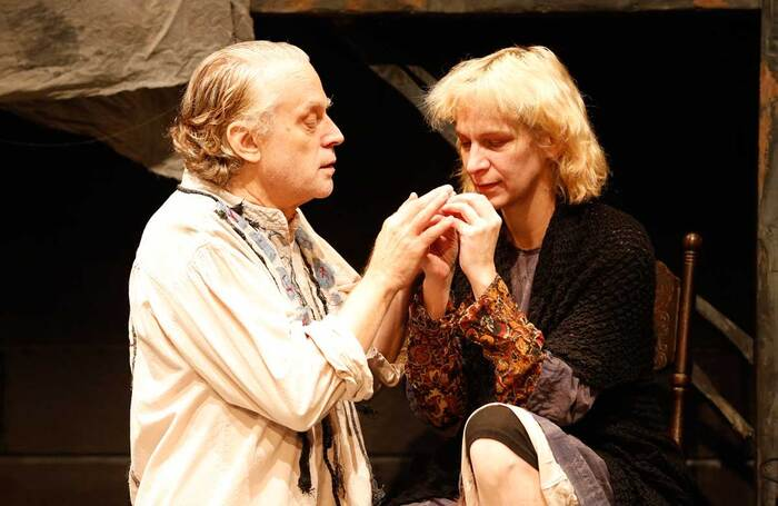 Brad Dourif and Amanda Plummer in New World Stages' 2013 revival of  The Two Character Play. Photo: Carol Rosegg