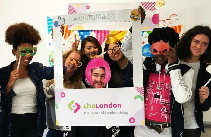 LHA London volunteers