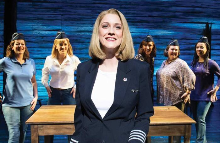 Alice Fearn in Come from Away at the Phoenix Theatre. Photo: Craig Sugden