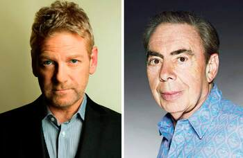 Kenneth Branagh and Lloyd Webber shows hit by Covid isolation rules