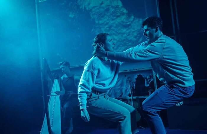 Theatre Gu Leòr's production of MAIM. PHoto: Mihaela Bodlovic