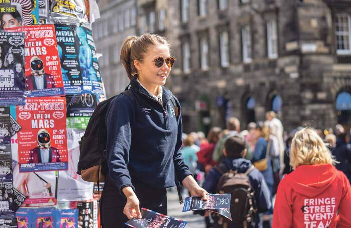 What advice do you have for someone doing their first Edinburgh Fringe?