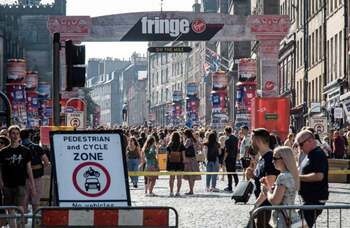 Edinburgh Fringe Society launches £7.5m fundraiser for Covid recovery