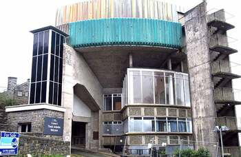 Police investigate planned reopening of derelict theatre in Wales