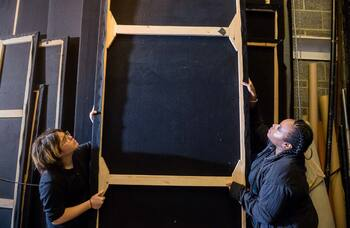 Set materials 'double in price' as theatres struck by nationwide shortage